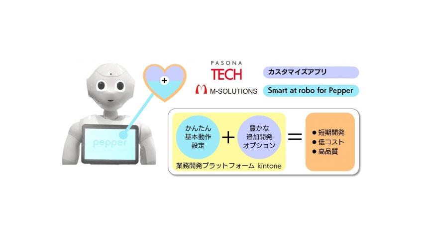 M-SOLUTIONSとパソナテック、Pepperのロボアプリ開発で協業