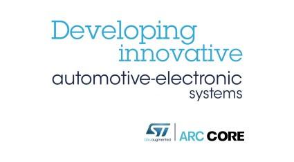 STとARCCORE、車載組込みシステムの開発効率化に向け協力