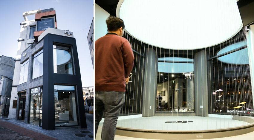 DJI、韓国市場での拡大を視野に弘大に旗艦店オープン