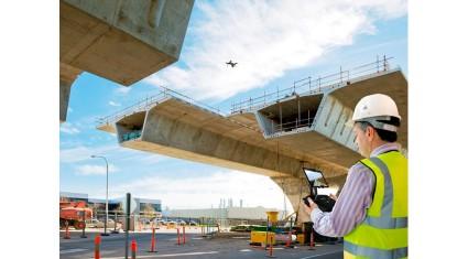3D Roboticsとオートデスク、ドローンによる測量・3Dデータ作成で協力。国交省のi-Constructionへの対応を支援