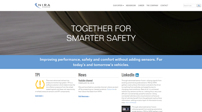 NIRA Dynamics ABがドライバーの認識向上へ新安全ソリューション