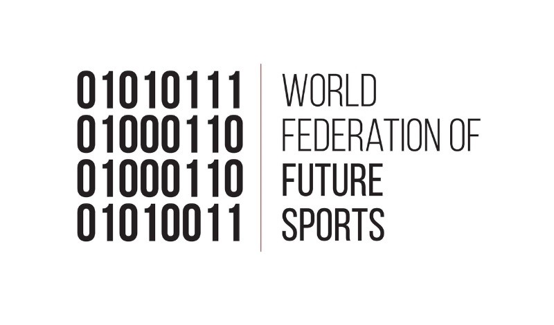 The official logo of The World Federation of Future Sports