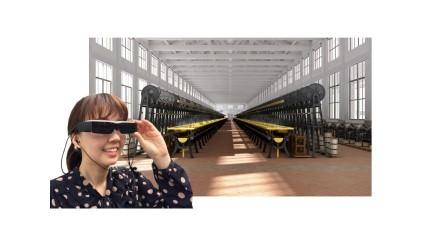 """近畿日本ツーリスト、""""スマートツーリズム""""推進、ウェアラブルで地域観光に貢献。世界遺産 富岡製糸場CG映像ガイドツアー実証実験実施"""