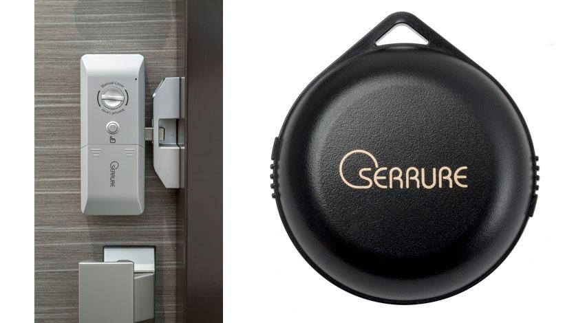 コマニー、玄関ドアに後付けOKの安心と安全性に特化したセリュール製オートロック錠「DECIMEL(デジメル)」発売