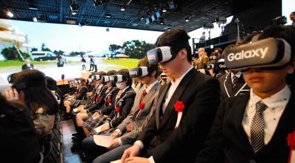 「N高等学校」VR入学式、「Gear VR」で360度映像ライブ中継を実施