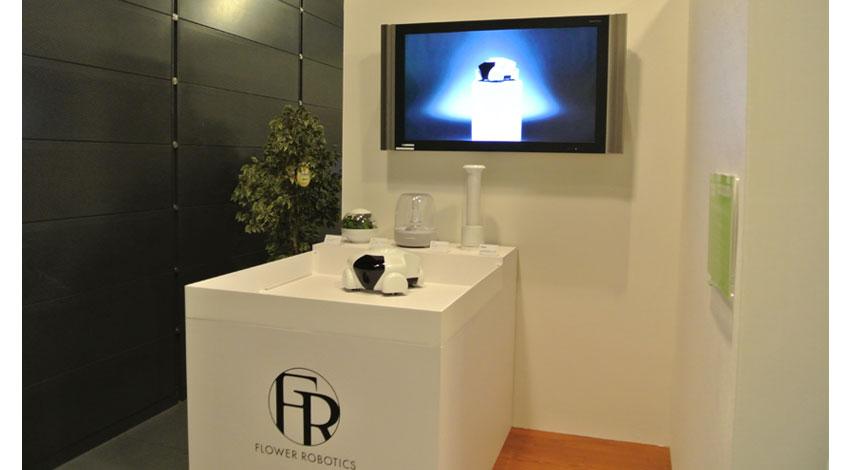フラワー・ロボティクス、TEPIA先端技術館で自律移動型ロボット「Patin(パタン)」の常設展示を開始