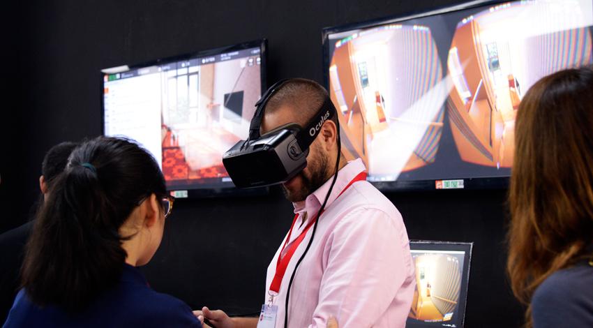 中国国際家具展、消費者向け仮想現実とスマートホームのカスタマイズに注目