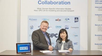 CC-Link協会とOPC Foundation、ハノーバフェアにてMoUを締結