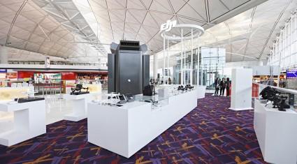 DJI、香港国際空港内の体験ゾーンを拡大