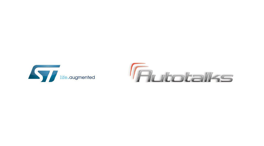 STとAutotalks、衛星測位システムと車車間・路車間通信を融合