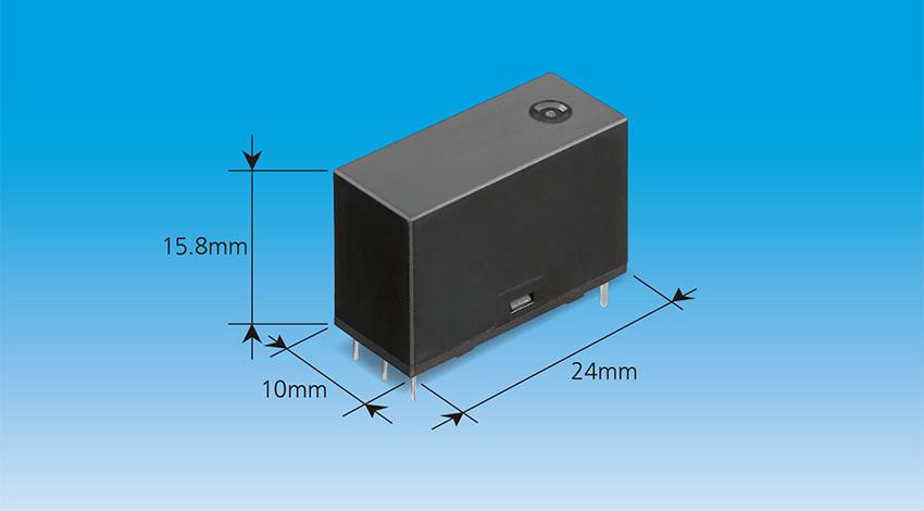 パナソニック、スマートスイッチやスマートコンセントなどの遠隔制御に適した薄型リレーを製品化