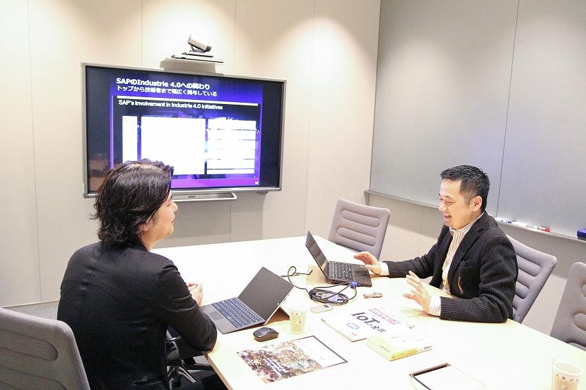 SAPジャパン株式会社 インダストリークラウド事業本部 IoT/IR4 (Internet of Things/Fourth Industrial Revolution) ディレクターの村田氏
