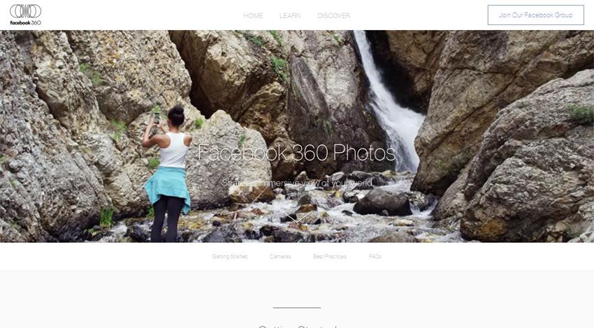Facebook、全方位写真を体験できる「360写真」を発表