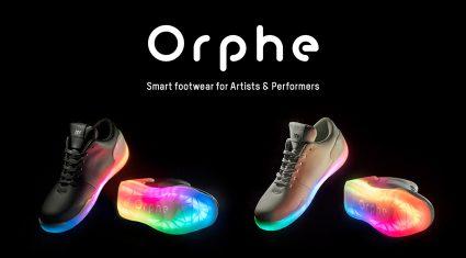 DMM.make AKIBA発のスタートアップ企業no new folkのスマートフットウェア「Orphe」、予約販売を開始