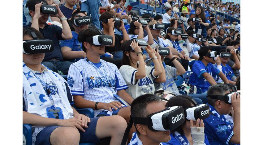 プロ野球界で「VR始球式」、Gear VRでピッチングをバーチャルレクチャー