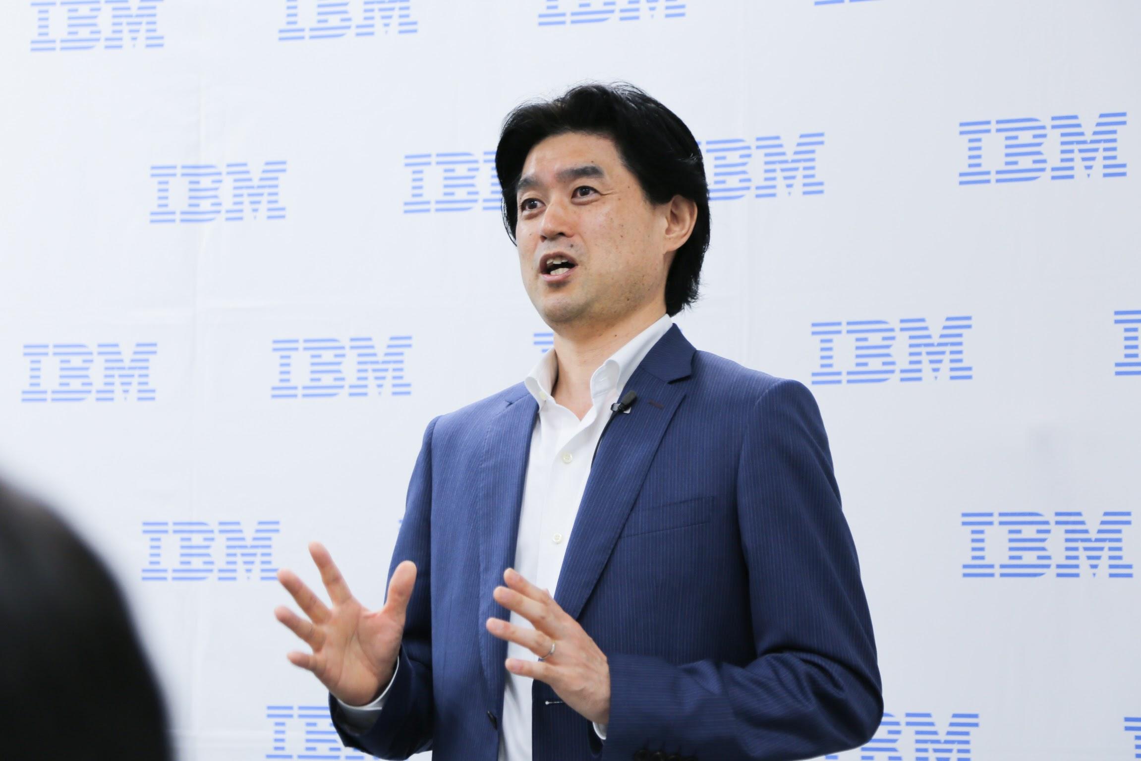 日本アイ・ビーエム株式会社 Watson IoT事業部 事業部長 林 健一郎氏