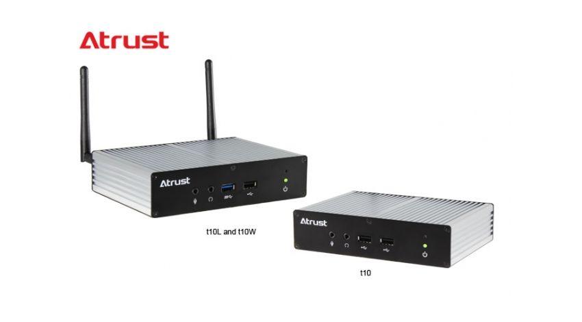 Atrust Computer、産業用・工業用IoTインダストリアルシンクライアント「Atrust t10シリーズ」をリリース
