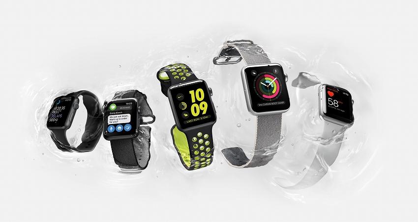 アップル、Apple Payも使えるApple Watch Series 2を発表