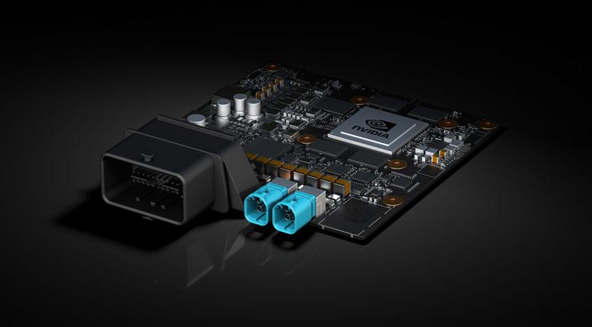 NVIDIA、手のひらサイズでエネルギー効率の高い自動運転車向けAIコンピュータを発表