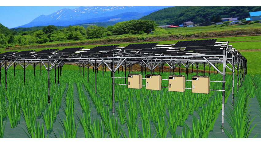 MOVIMASとスマートブルー、営農・太陽光・蓄電に対応したIoT活用のソーラーシェアリング事業で協業