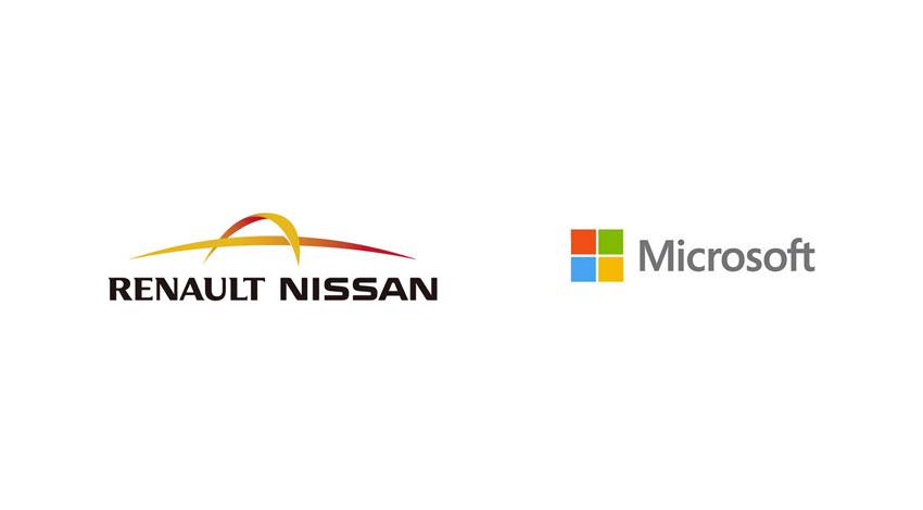 ルノー・日産アライアンスとマイクロソフト、次世代コネクテッド・カー技術の開発で提携