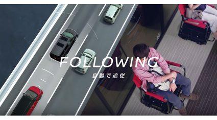 日産、自動運転技術から着想を得た行列を自動で進むイス「プロパイロットチェア」を公開