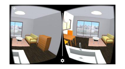 ハコスコとリビングスタイル、部屋づくりシミュレーションをVR体験、「リノベる。おうちプランナー」のハコスコ対応を共同開発