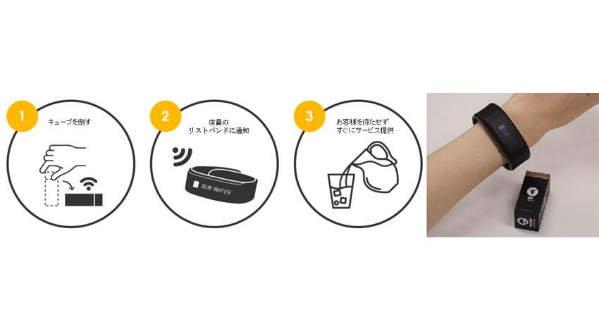 エスキュービズム、飲食店向けIoTキューブ型コールベル「noodoe(ヌードー)」販売開始
