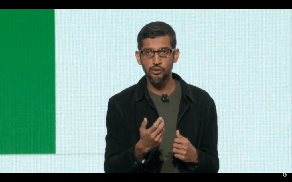 Google CEOサンダーピチャイ