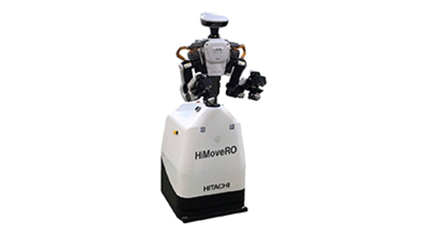 日立、産業用ロボットを移動可能にする自律走行装置「HiMoveRO」発売