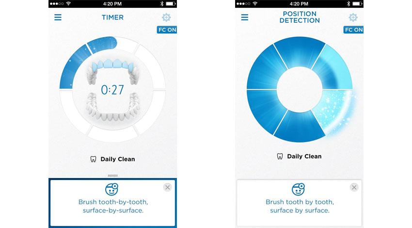 P&G、アプリ画面で磨き残し箇所を指摘してくれるスマートハブラシ「ブラウン オーラルB ジーニアス9000」新発売