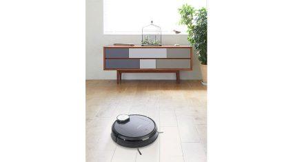 エコバックス、外出先でもスマホで掃除の操作ができる床用ロボット掃除機「DEEBOT R95」発売