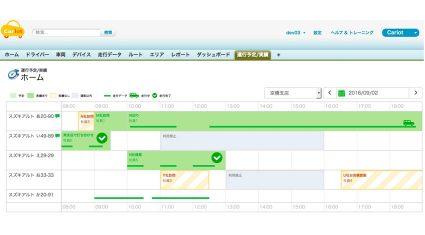 """フレクト、コネクテッド・カー アプリ「Cariot」に""""車両予約""""と""""利用実積管理"""" 機能をリリース"""