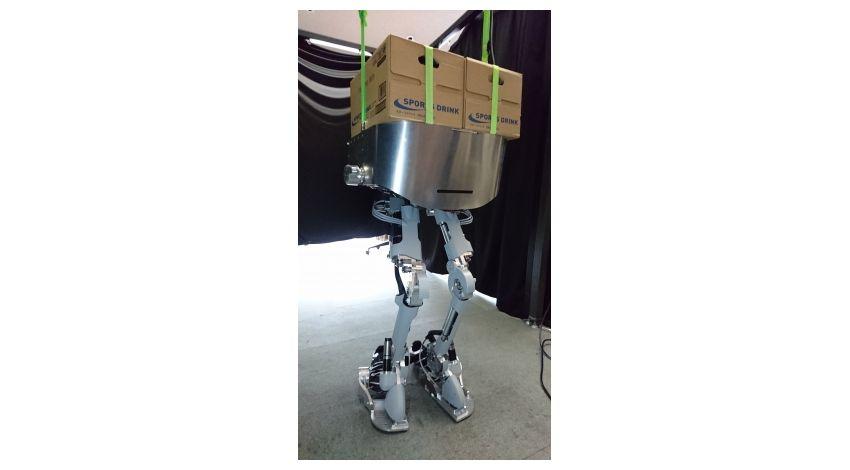 アクティブリンク、二足歩行・運搬ができるパワードスーツのプロトタイプを公開