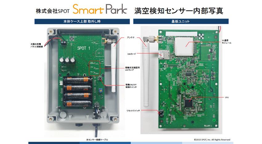 SPOT、IoTで空きコインパーキングを探せるアプリ「Smart Park」配信開始