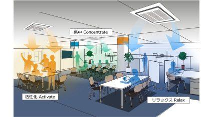ダイキンとNEC、AI・IoTを用いて知的生産性を高める空気・空間の実現に向け、共同研究を開始