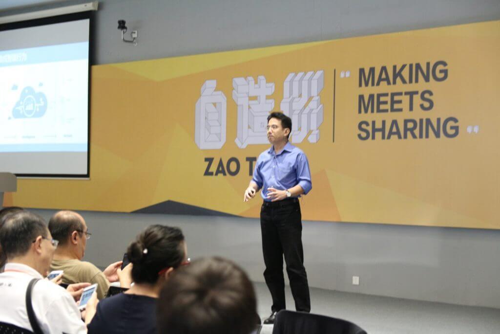 マイクロソフト 中国開発体験及びプラットフォーム協力事業部 技術顧問指導者 嚴飛氏