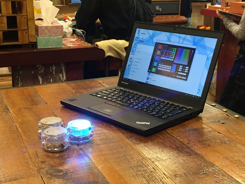 Cerevoは、Bluetooth搭載スマート・ヨーヨー「7-Magic」を発表