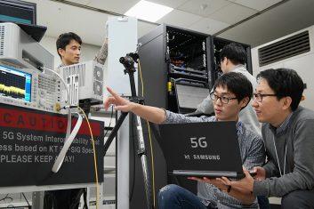 KTとサムスン、世界で初めて5G ネットワークの接続試験に成功