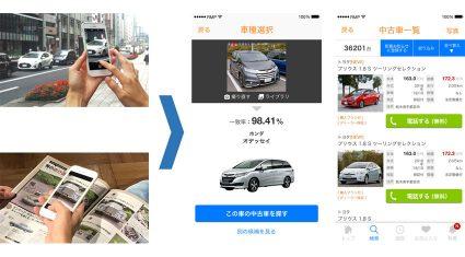 リクルートマーケティングパートナーズ、リクルートテクノロジーズのディープラーニングを用いた教師あり学習技術を活用しカーセンサーアプリに「画像による車種検索機能」追加