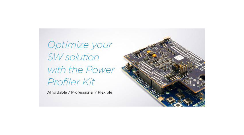 Nordic、組み込みソリューションの動的な消費電力を測定する「Power Profiler Kit」提供開始