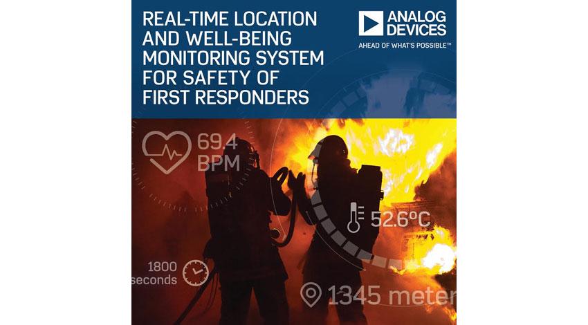 アナログ・デバイセズとDell EMC、危険な状況下で活動する救助隊員の身体状況と安全をリアルタイムに監視するIoTソリューションを開発