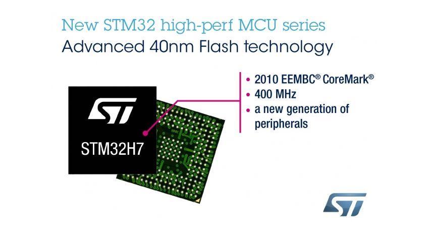 STマイクロエレクトロニクス、記録的性能を実現し、IoT向けの高度なセキュリティ・サービスを付加したSTM32H7シリーズ発表