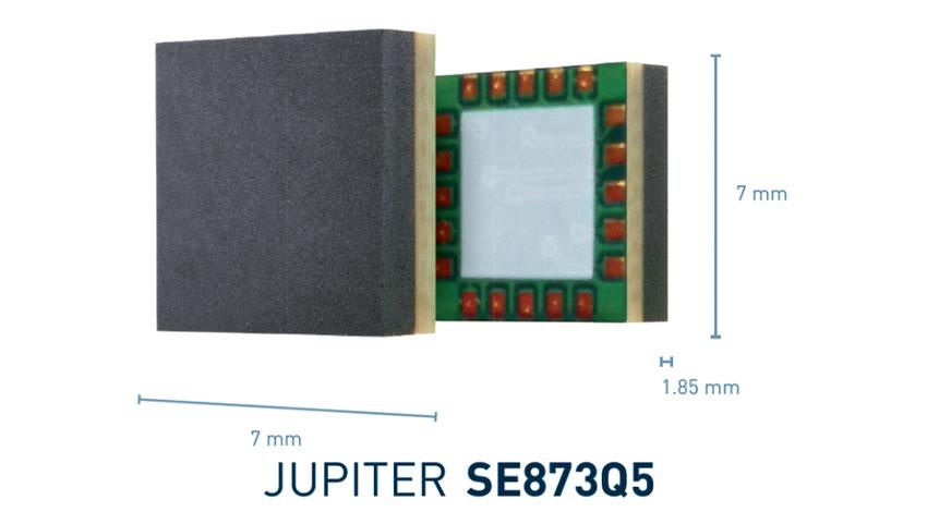 Telit、小型で消費電力が極めて少ない高感度のGNSSモジュール「SE873Q5」販売を開始