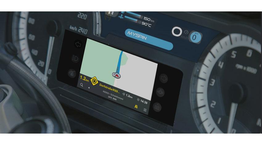 ボッシュ、二輪車でスマートフォンのアプリが利用できる「mySPIN」を発表