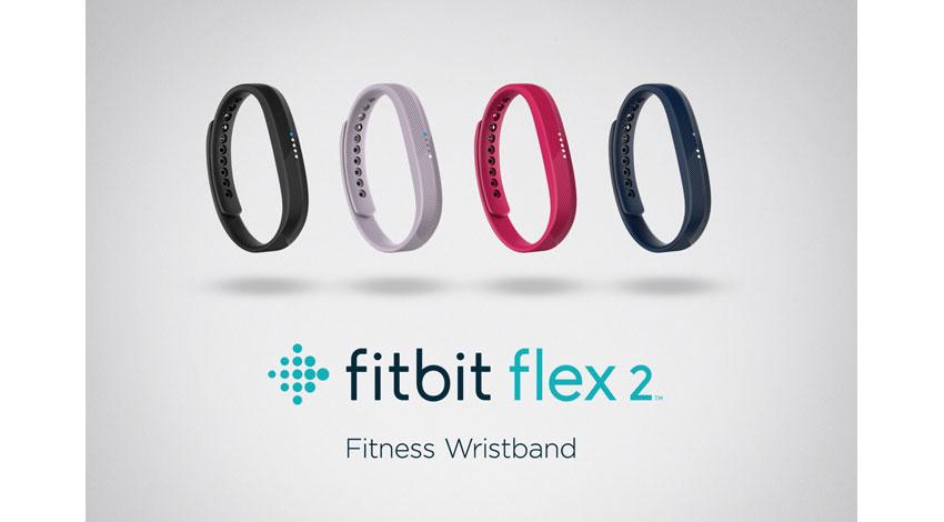 Fitbit、スイミングに対応したリストバンド「Fitbit Flex 2」日本発売開始