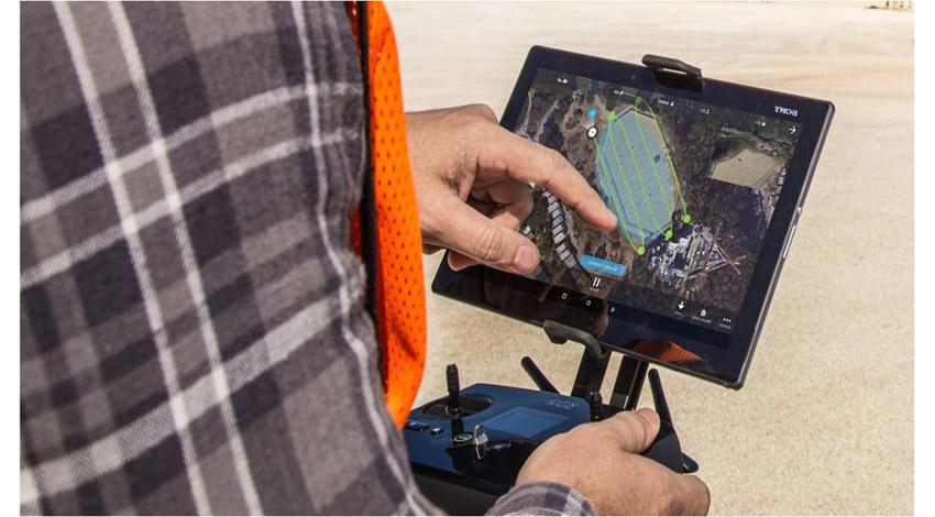 ソフトバンク コマース&サービス、建設業界向けに地形を3Dデータ化するドローンアプリ「Site Scan」のセットモデルを提供開始