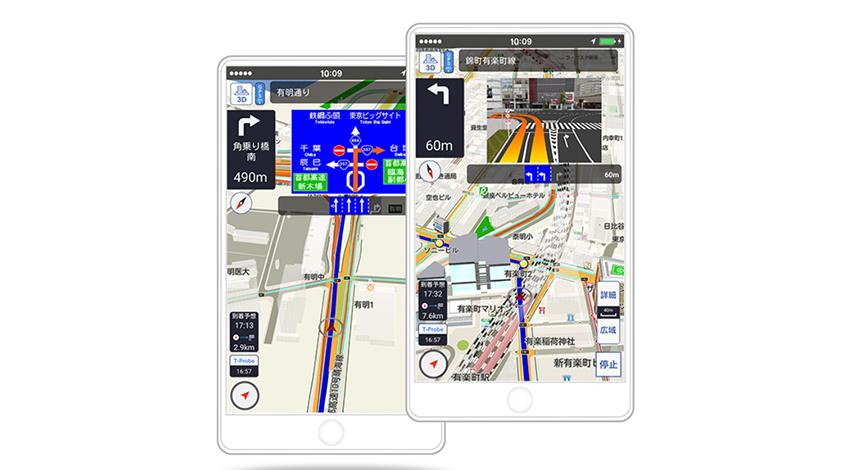 トヨタ、新しいスマートフォン向けナビゲーションアプリ「TCスマホナビ」の無料提供を開始、災害時に備え、トヨタ独自の交通情報を常時掲載