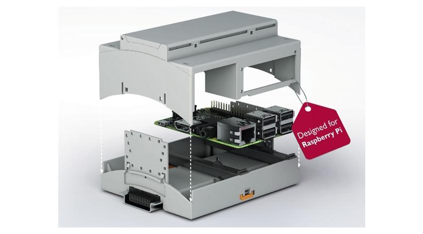 アールエスコンポーネンツ 、Phoenix Contactの産業用途向けRaspberry Piケースの販売を開始