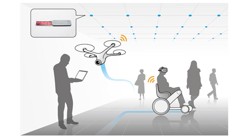 東洋大学情報連携学部、富士通のバッテリーレス・フレキシブルビーコンを IoT環境の一部として採用